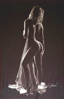 Boudoir Collection: Untitled Drawing 40x29 Drawing - Bill Mack