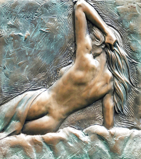 Nude Woman Bronze Sculpture 2000 18 in Limited Edition Print by Bill Mack