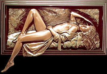 Symphony Bonded Bronze Sculpture AP 1995 27x57 Sculpture - Bill Mack
