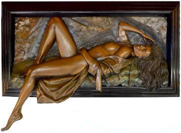 Symphony Bonded Bronze Sculpture AP 1995 27x57 Super Huge Sculpture - Bill Mack