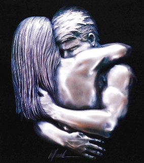Love Virtual Sculptural Relief 2007 34x32 Sculpture - Bill Mack
