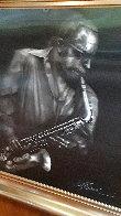 Jazzman Virtual Relief Sculpture TP 2007 34x31 Sculpture by Bill Mack - 2