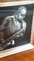 Jazzman Virtual Relief Sculpture TP 2007 34x31 Sculpture by Bill Mack - 4