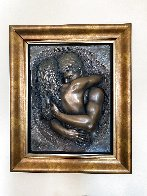 Love Virtual Mixed Media Sculptural Relief 2007 34 in Sculpture by Bill Mack - 2