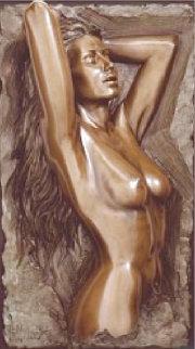 Splendor Bronze Sculpture 1990 35x19 Sculpture - Bill Mack