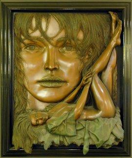 Rapture Bonded Bronze Relief Sculpture 1996 48x40 Huge Sculpture - Bill Mack