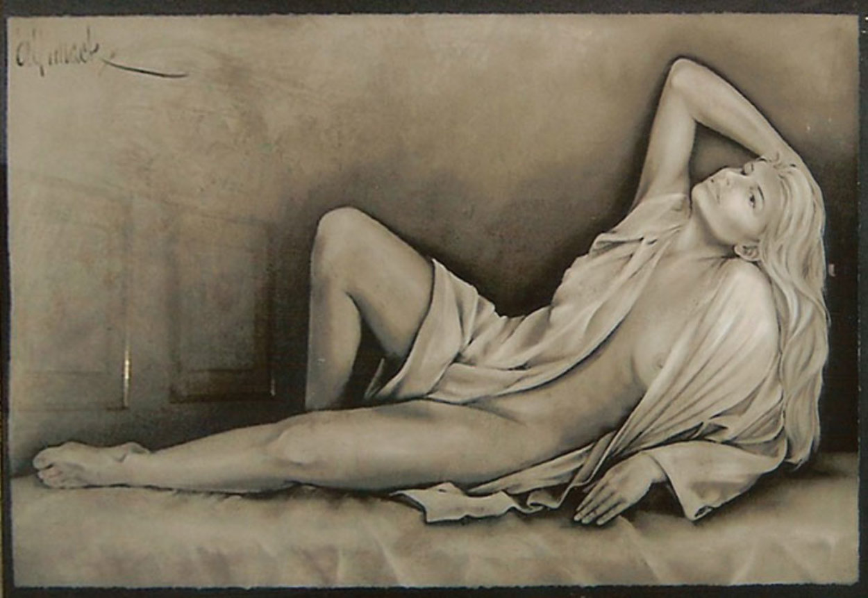 Radiance Serigraph 1992 Limited Edition Print by Bill Mack