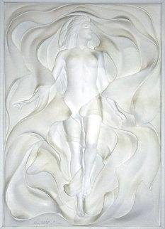 Odyssey Bonded Sand Sculpture 1994 59x44 Sculpture by Bill Mack