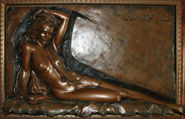 Inspiration Bonded Bronze Sculpture 1996 25x40 Sculpture by Bill Mack