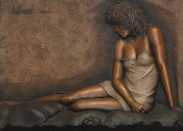 Desiree Bonded Bronze Sculpture 42x52 Sculpture - Bill Mack