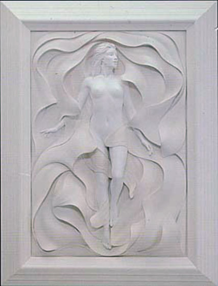 Odyssey Bonded Sand Sculpture 1992 Sculpture by Bill Mack