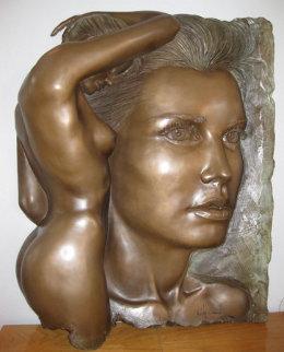 Essence Bonded Bronze Sculpture 1988 Sculpture by Bill Mack