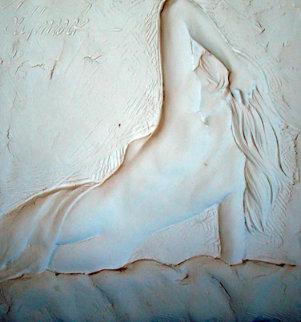 Slumber Bonded Sand Sculpture 2005 Sculpture by Bill Mack