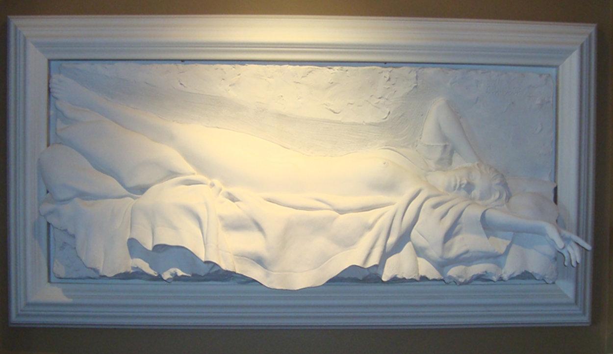 Awakening Bonded Sand Sculpture 2000 36x71 Sculpture by Bill Mack