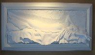Awakening Bonded Sand Sculpture 2000 36x71 Sculpture by Bill Mack - 0
