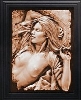 Dawn Bonded Bronze Sculpture 1991 22x16 Sculpture by Bill Mack - 2