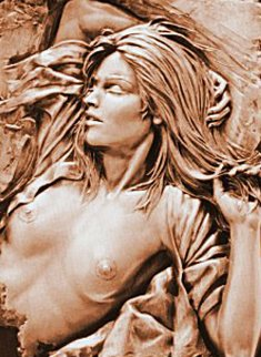 Dawn Bonded Bronze Sculpture 1991 22x16 Sculpture - Bill Mack
