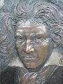 Beethoven Bonded Bronze Sculpture 2004 Sculpture - Bill Mack