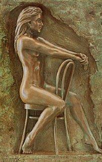 Solitude Bonded Bronze Bronze 1987 Sculpture by Bill Mack