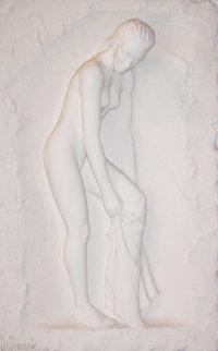 Vanity Bonded Sand Sculpture 1998 40x29 Sculpture - Bill Mack