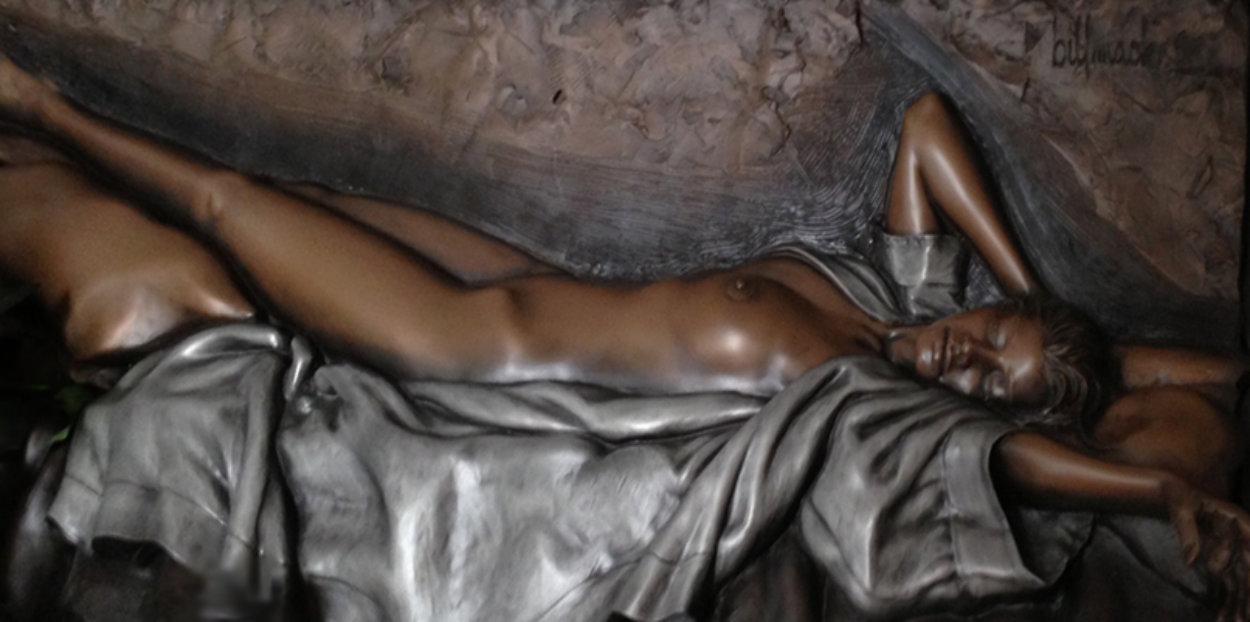 Awakening Mixed Metals Sculpture 2001 37x73 Sculpture by Bill Mack