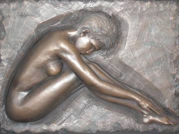 Serenity Bonded Bronze Sculpture 2007 Sculpture by Bill Mack