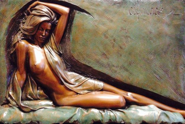 Inspiration Bonded Bronze Sculpture 1995 Sculpture by Bill Mack
