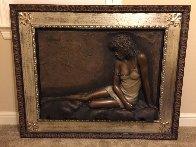 Desiree Bonded Bronze Sculpture 2004 29x39 Sculpture by Bill Mack - 1