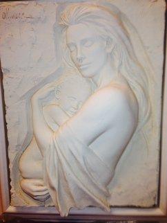 Tenderness Bonded Sand Sculpture 1995 Sculpture by Bill Mack