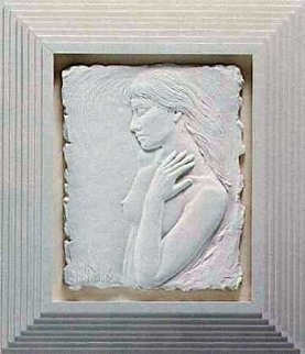Repose Porcelain Sculpture 1987 Sculpture - Bill Mack