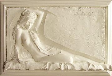 Inspiration Bonded Sand Sculpture 1996  25x27 Sculpture - Bill Mack
