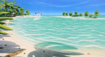 Tropical Breeze AP Limited Edition Print - Dan Mackin
