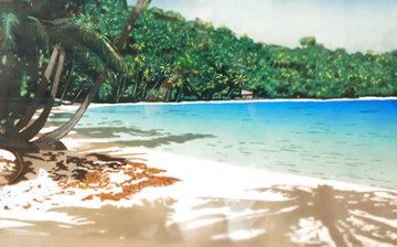 Bora Bora 1988 Limited Edition Print - Dan Mackin