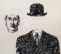 Bowler Hat 1960 Limited Edition Print - Rene Magritte