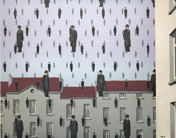 Golconde Limited Edition Print by Rene Magritte