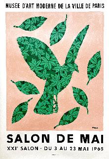 Salon De Mai Poster 1965 Limited Edition Print - Rene Magritte