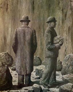 Le Chant de la Violette 1979 Limited Edition Print - Rene Magritte
