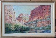 Marble Canyon 41x61 Super Huge!  Original Painting by Merrill Mahaffey - 1