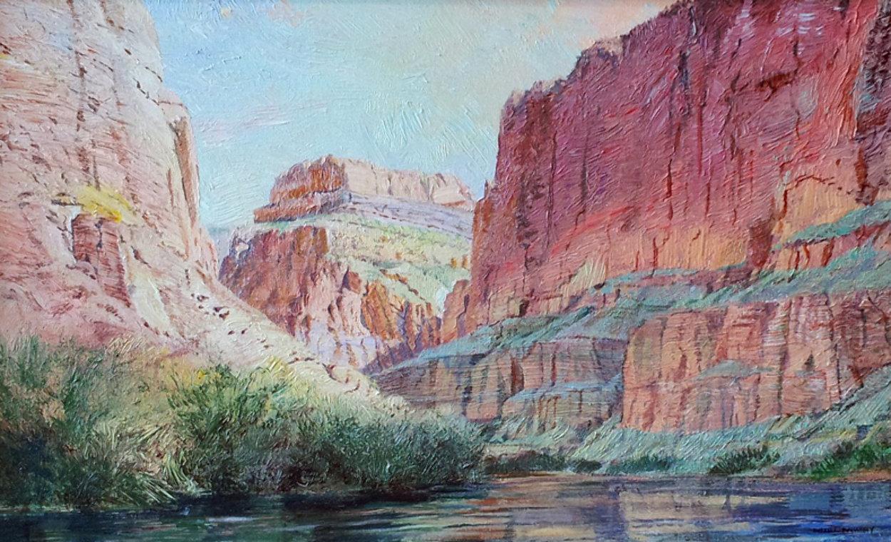 Marble Canyon 41x61 Super Huge!  Original Painting by Merrill Mahaffey