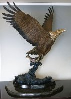 Gone Fishing 1993 42 in Sculpture by Michael Maiden - 0