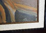 Villa Studio 52x42 Huge  Original Painting by Isaac Maimon - 2
