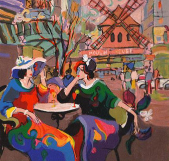 Paris Limited Edition Print by Isaac Maimon