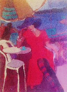 By the Riverside PP 2000 Limited Edition Print by Isaac Maimon