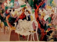 West Bank Cafe  Limited Edition Print by Isaac Maimon - 1