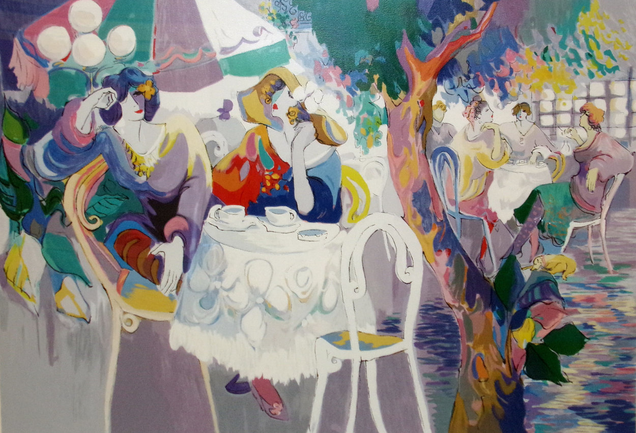 West Bank Cafe  Limited Edition Print by Isaac Maimon