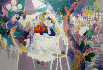 West Bank Cafe 19931993 Limited Edition Print by Isaac Maimon