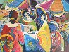 Conversations 2015 36x46 Original Painting by Isaac Maimon - 0