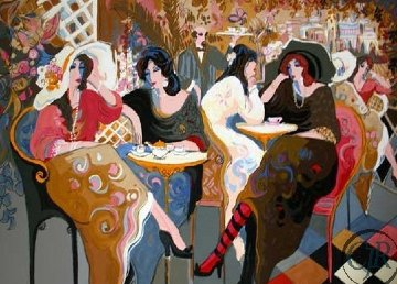 Le Bistro 1995 Limited Edition Print by Isaac Maimon