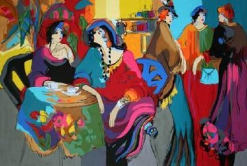 Cafe De Lion 1995 Limited Edition Print - Isaac Maimon