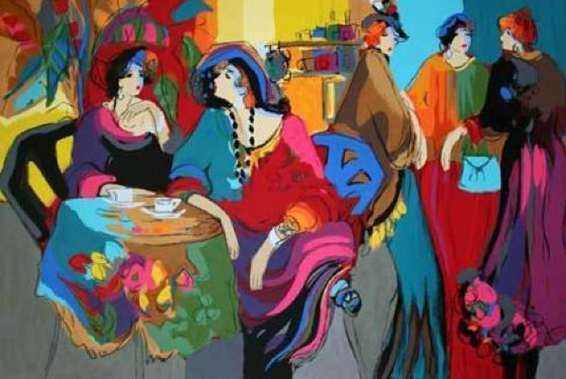 Cafe De Lion 1995 Limited Edition Print by Isaac Maimon